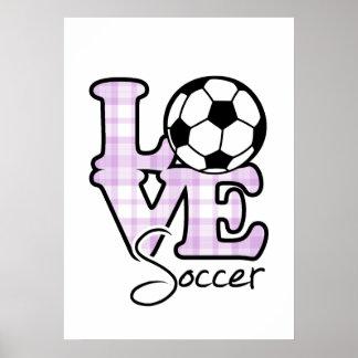 Futebol do amor pôster