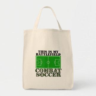 Futebol do combate bolsa de lona