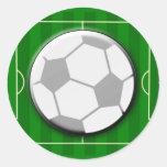 Futebol do futebol adesivos