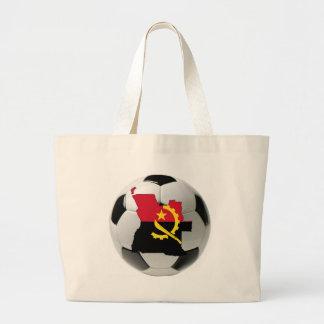 Futebol do futebol de Angola Bolsa De Lona