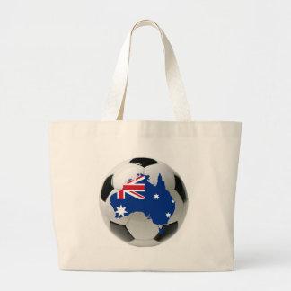 Futebol do futebol de Austrália Bolsa Para Compras