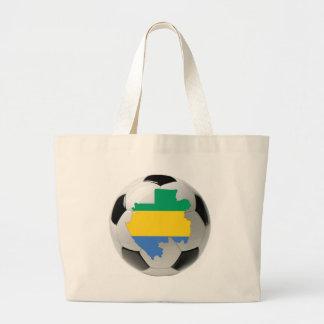 Futebol do futebol de Gabon Bolsa De Lona