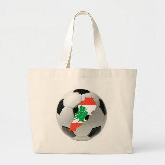 Futebol do futebol de Líbano Bolsa De Lona