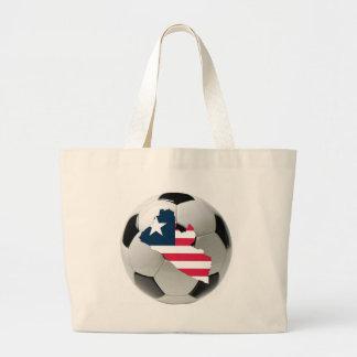 Futebol do futebol de Liberia Bolsa De Lona