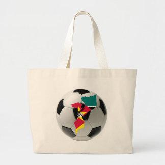Futebol do futebol de Mozambique Bolsa De Lona