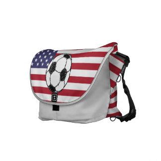 Futebol dos EUA Bolsas Mensageiro