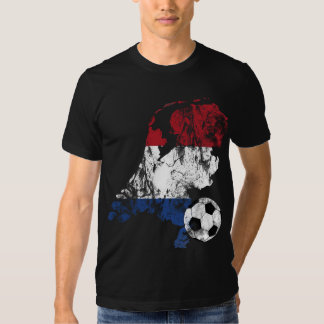 Futebol holandês afligido tshirts