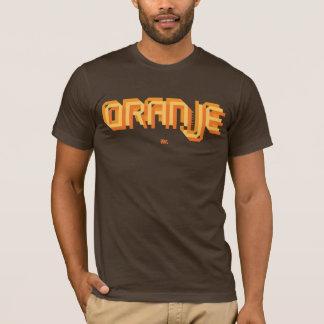 Futebol holandês de Oranje - camisa de Brown