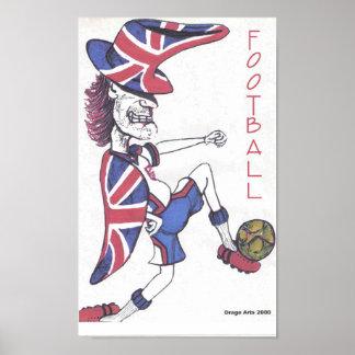 Futebol louco poster