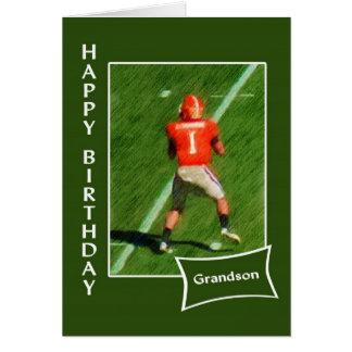 Futebol - neto do feliz aniversario cartão comemorativo
