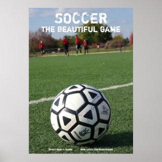 Futebol - o jogo bonito - poster pôster