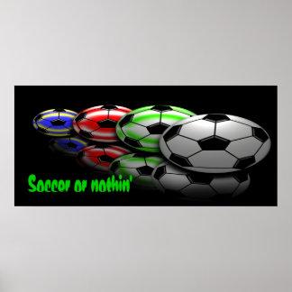 Futebol ou nada impressão