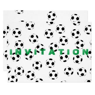 Futebol pelos Feliz Juul Empresa Convite 12.7 X 17.78cm