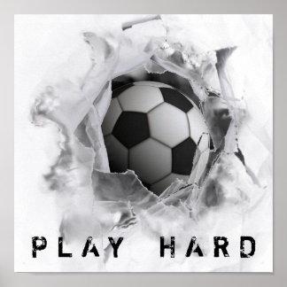 Futebol Pôster