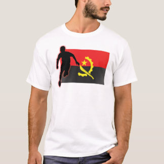 Futebol run4 de Angola Camiseta