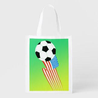 Futebol Sacola Ecológica Para Supermercado
