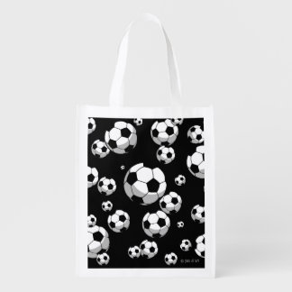 Futebol Sacolas Reusáveis