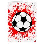 futebol splat. cartoes