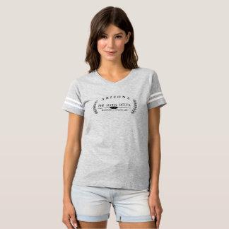 Futebol-tipo camisa com delta do alfa da phi