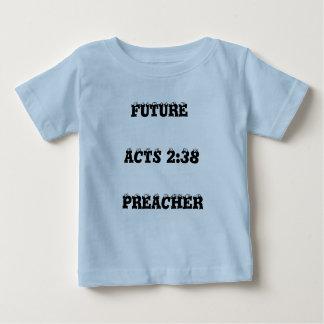 FUTURO, 2:38 DOS ATOS, PREGADOR CAMISETA PARA BEBÊ