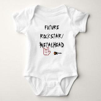 FUTURO ROCKSTAR/METALHEAD T-SHIRT