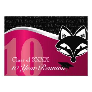 FVL reunião de classe de 10 anos Convites Personalizados