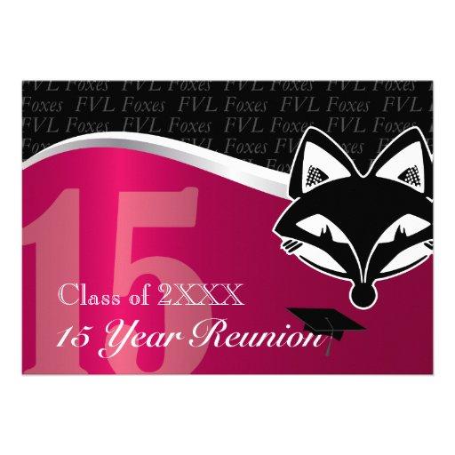FVL reunião de classe de 15 anos Convite