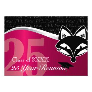 FVL reunião de classe de 25 anos Convite Personalizados