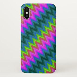 G-24 da turbulência do ziguezague do caso do capa para iPhone x