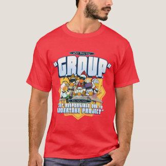 G.R.O.U.P. Projetos - o T dos homens das galinhas Camiseta