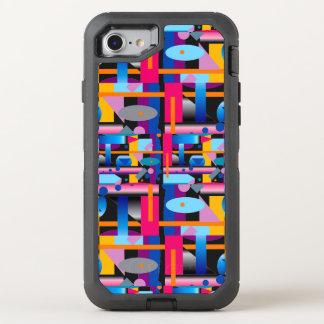 Gabarito geométrico em Otterbox para o iPhone 6s Capa Para iPhone 7 OtterBox Defender