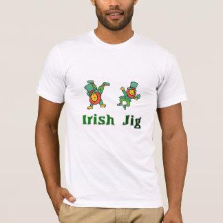 Gabarito irlandês, irlandês Jig-1 Camiseta