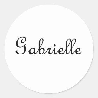 Gabrielle Adesivo