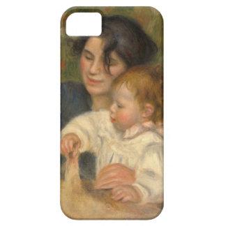 Gabrielle e Jean por Pierre-auguste Renoir Capa Barely There Para iPhone 5