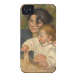 Gabrielle e Jean por Pierre-auguste Renoir Capa Para iPhone