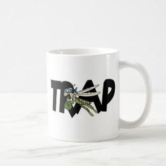 Gafanhoto da armadilha caneca de café