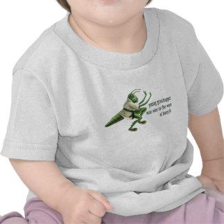 Gafanhoto engraçado de Kung Fu T-shirts