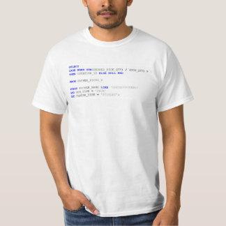 Gaiteiro SQL de Peter Camiseta