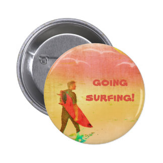 Gajo do surfista bóton redondo 5.08cm