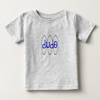 Gajo do surfista camiseta para bebê