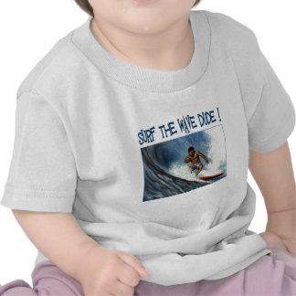 Gajo do surfista camisetas