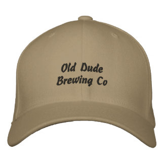 Gajo idoso que fabrica cerveja o Co Boné Bordado