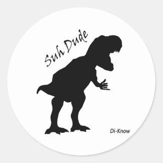 GAJO T. Rex Etiqueta de SUH