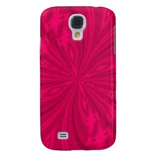 Galáxia abstrata s4 de Samsung do rosa da Galaxy S4 Case