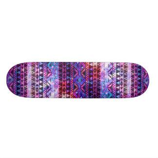 Galáxia asteca feminino da nebulosa da cerceta do  skate personalizado