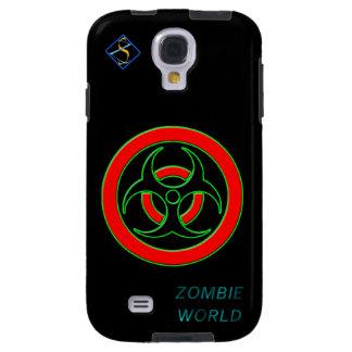 Galáxia contaminada mundo S4 de Samsung do zombi, Capa Para Galaxy S4