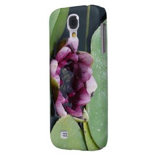 Galáxia cor-de-rosa S4 de Samsung da flor de Lotus Galaxy S4 Cases