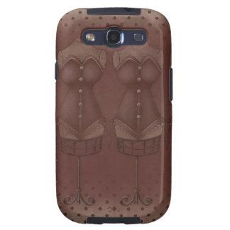 Galáxia de Samsung do formulário do vestido de Capas Personalizadas Samsung Galaxy S3