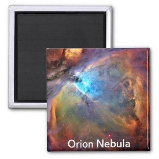 Galáxia do espaço da nebulosa de Orion Ímã Quadrado