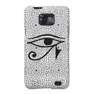 Galáxia egípcia S2 de Samsung do olho & do teste Capinha Samsung Galaxy SII